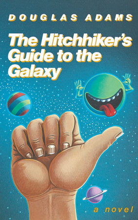 Cover of Douglas Adam's The Hitchhiker's Guide to the Galaxy