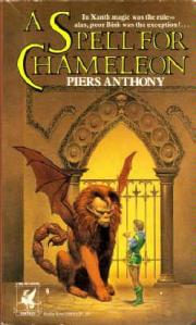 Cover of A Spell of Chameleon by Piers Anthony