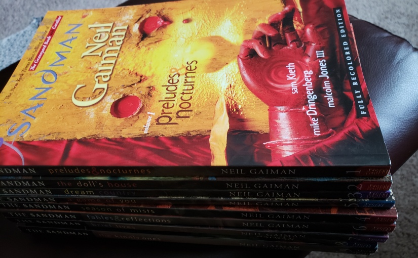 "Entering the Sandman Universe, Issue 1 – ""Sleep of theJust"""