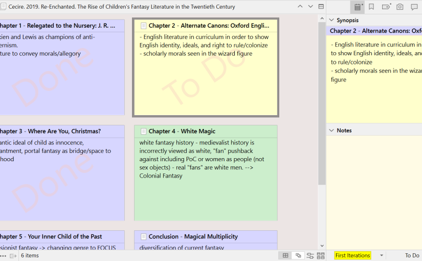 The University 811: Invest Time and Money in a Scrivener Programme (orEquivalent)